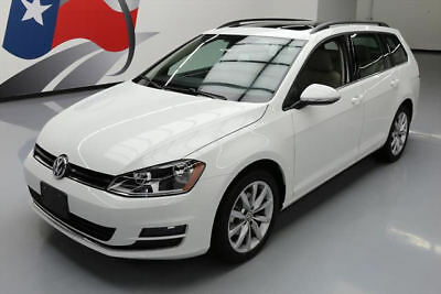 2017 Volkswagen Golf  2017 VOLKSWAGEN GOLF SE PANO REAR CAM HTD SEATS 22K MI #504179 Texas Direct Auto