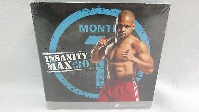 New & Sealed Insanity Max30 The Workouts Workout Set 10 DVDs Beachbody