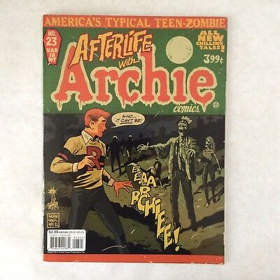 """Life With Archie #23 Francesco Francavilla """"Afterlife With Archie"""" Variant! RARE"""