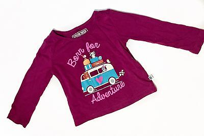 Cherokee Baby Girls 12 Months Long Sleeve Shirt Born For Adventure Pre Owned