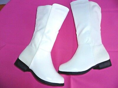 e7d28ba7b WHITE GIRLS BOOTS Shoes Youth Kids Size 9-4 -  22.49