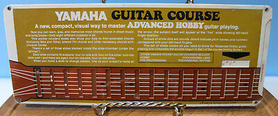VTG ~ 1971 Yamaha Guitar Course ~ Advanced Hobby Course Card ~ Factory Sealed