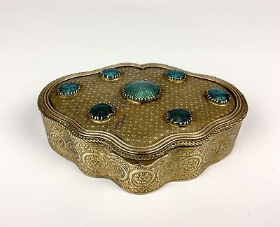 Antique French Gilt Bronze Box 1800s