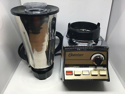 Osterizer Commercial Blender ~ Vintage Heavy Duty Stainless Steel