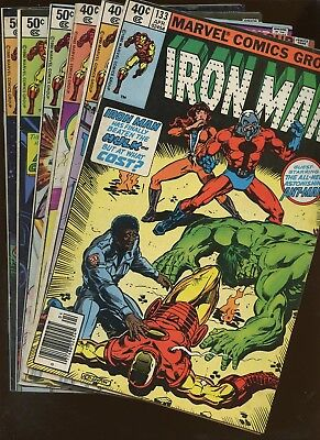 Iron Man 133,135,137,140,141,142 ~ 6 Book Lot * Bob Layton!!! John Romita Jr!!!