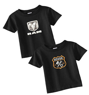 Dodge infant tees 2 pack dodge ram hemi for baby clothes t-shirt