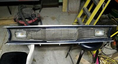 71' Plymouth Duster Grill
