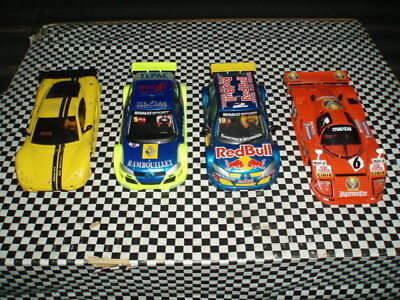Scalextric Ninco Slot it Collection of used slot car bodies only all in good con