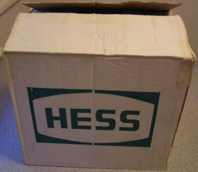 1985 Case of 6 Hess Toy Gasoline Bank Trucks, All Original Boxes, Packing, Case