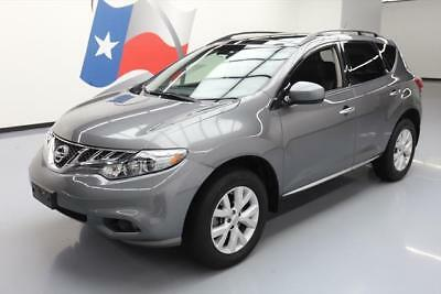 2014 Nissan Murano  2014 NISSAN MURANO SL AWD PANO ROOF NAV HTD LEATHER 40K #512840 Texas Direct