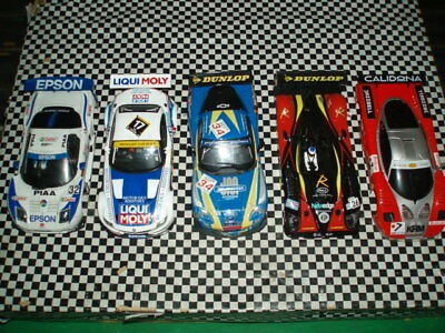 Scalextric Ninco Slot It Collection of bodies (3)