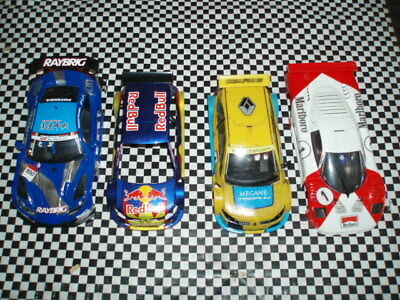 Scalextric Ninco Slot It collection of bodies all in good cond (2)