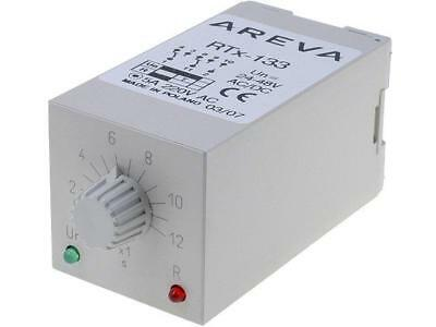 RTX133-24-12s Timer 1÷12s DPDT 230VAC/5A 24÷48VAC 24÷48VDC undecal SCHNEIDERS