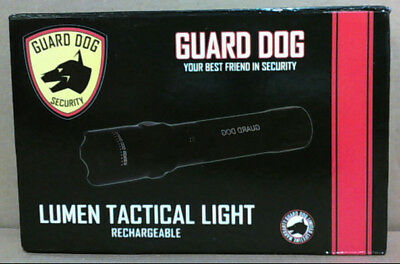 NEW Guard Dog Tactical Flashlight, 240 Lumen