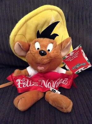 SPEEDY GONZALEZ Feliz Navidad Christmas BEAN BAG WARNER BROS STUDIO STORE