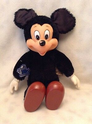 VINTAGE Applause MICKEY MOUSE DOLL Plush Hard Stuffed Rubber Face