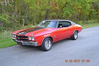 1970 Chevrolet Chevelle NUMBERS MATCHING SS 396/350 SUPER SPORT 1970 CHEVELLE SS 396 NUMBERS MATCHING SOLID STRAIGHT BEAUTIFUL CRANBERRY RED