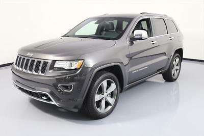 2015 Jeep Grand Cherokee Overland Sport Utility 4-Door 2015 JEEP GRAND CHEROKEE OVERLAND 4X4 HEMI PANO NAV 28K #613672 Texas Direct