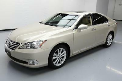 2011 Lexus ES Base Sedan 4-Door 2011 LEXUS ES350 SUNROOF NAV REAR CAM CLIMATE SEATS 62K #447658 Texas Direct