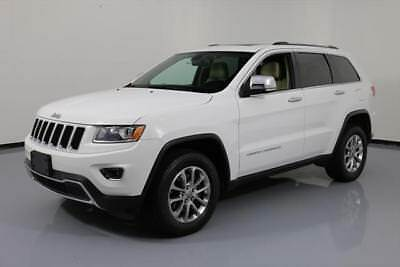 2014 Jeep Grand Cherokee Limited Sport Utility 4-Door 2014 JEEP GRAND CHEROKEE LTD 4X4 LEATHER SUNROOF 50K MI #138299 Texas Direct