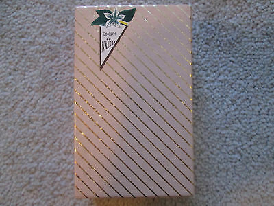 Cologne de Naudet Perfume Vintage NEW IN BOX # 85 4 fl oz 118.3ml New York RARE