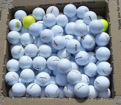 Exceptional Lot 200 Good Used Golf Balls 1000s of Golf Balls Sold Free Gift NR