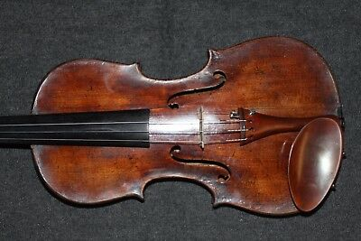 Antique 1799 grafted neck Italian violin Brandinoni ,4/4 no reserve.