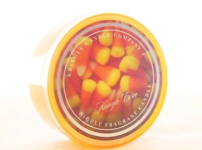 NEW KRINGLE Candle - Candy Corn - Daylight Votive - Halloween - Retired RARE