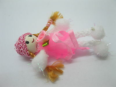 98 Pink Hand Craft Gauze Lace Doll Embellishments