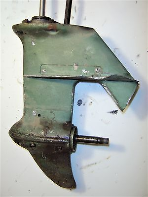 Vintage Johnson Qd-13 Outboard 10Hp Lower Unit