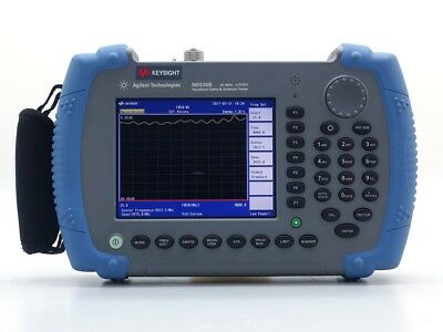 Keysight Used N9330B Handheld Cable and Antenna Tester, 25MHz - 4GHz (Agilent)