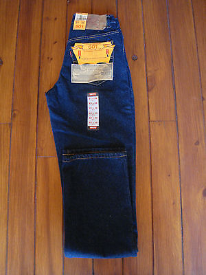 Vintage Levi's 501Xx Jeans W27 36L Button Fly Made In Usa Nwt / Vaqueros Rectos