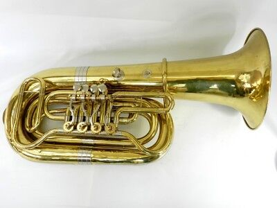 Tuba Bb Amati Lacquer After Technical Review Used (DR17-325)