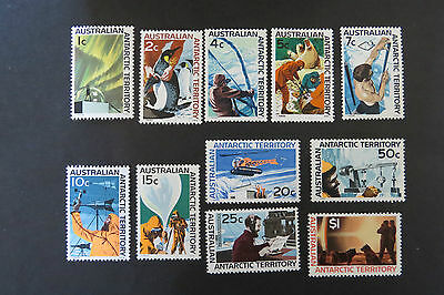 1966 Definitive Set of Eleven Stamps SG 8-18 ASC 8-18 MUH