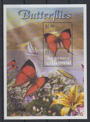 A36. Micronesia - MNH - Nature - Animals - Insects - Butterflies