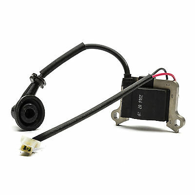 PetrolScooter 49cc IGNITION COIL  62mm Stand On Scooter Buggy Spark Plug HT Lead