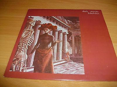"Bauhaus - Dark Entries 7"" Single - 4Ad Axis 3 - 1980- Goth"