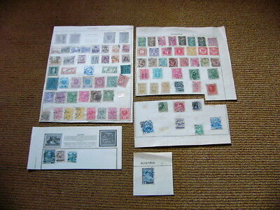 Mixed Collection of Worldwide Stamps - Austria