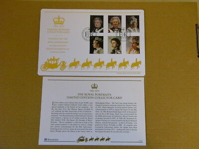 2013 60th Anniversary of the Coronation (Limited Edition Collectors Card)