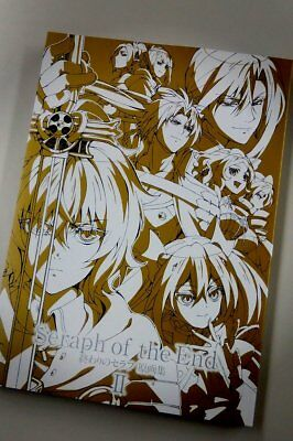 Seraph of the End Art illustration Book Vol.2 Japan Official 224 pages Hyakuya