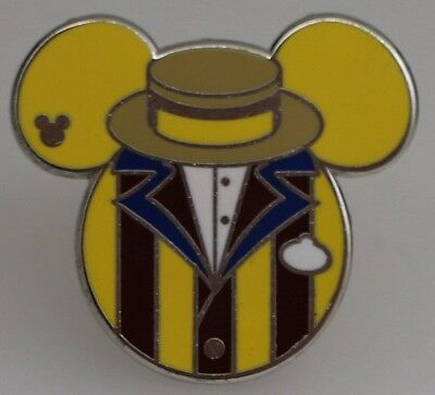 Disney WDW Hidden Mickey Cast Member Costumes Toy Story Midway Mania Pin