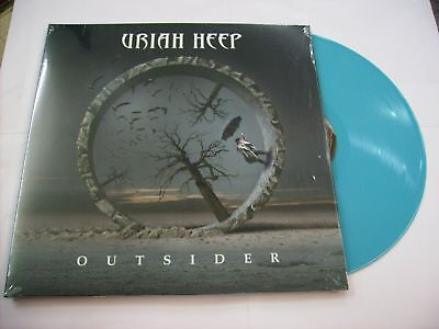 Uriah Heep - Outsider - Lp Blue Vinyl New Unplayed 2014