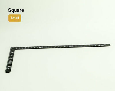 Centimeter Square Ruler 30cmx15cm Metric Set Carpentry Tool Leather Leathercraft