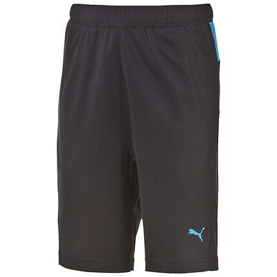 PUMA funktionshort Active CELLULE poly SHORTS PANTALON COURT ENFANTS Jeune Black