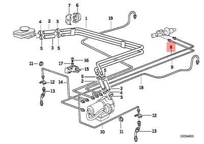 BMW E36 3-SERIES Factory ASC+T ABS Traction Control Module ... Bmw E Asc Wiring Diagram on