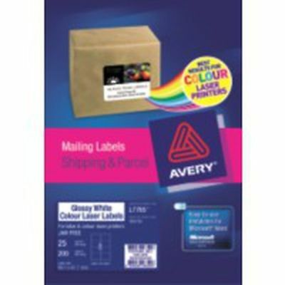 AVERY WHITE MAILING LABELS SHIPPING & PARCEL 99.1 x 67.7mm (959765)