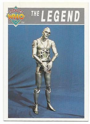 1994 Cornerstone DR WHO Base Card (107) The Legend