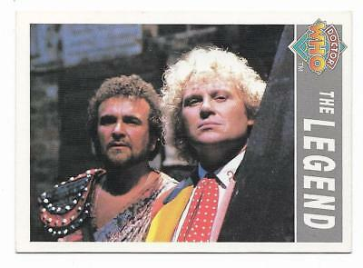 1994 Cornerstone DR WHO Base Card (109) The Legend