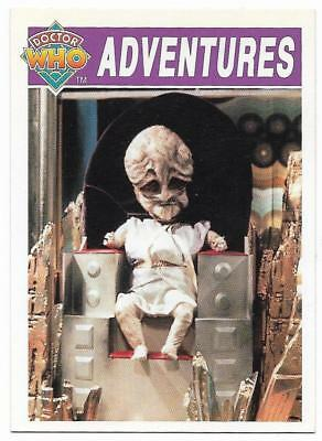 1994 Cornerstone DR WHO Base Card (11) Adventures
