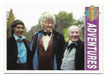 1994 Cornerstone DR WHO Base Card (14) Adventures